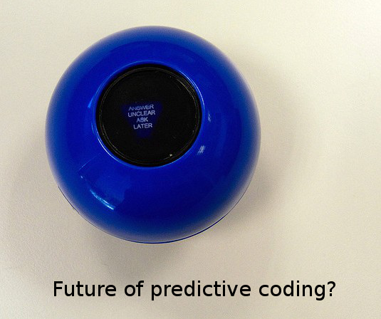 Future of predictive coding